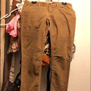 Hollister Corduroy pants size 5